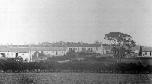 Bensley miners' row, Kilwinning