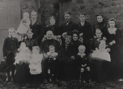 The Senior or Green Family circa 1893 001 (2)
