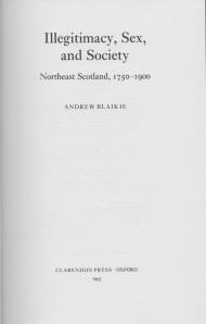 Andrew Blaikie book