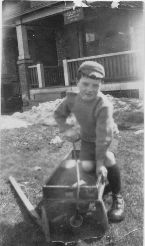Robert in 1920s
