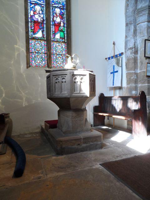 1663 Baptismal Font