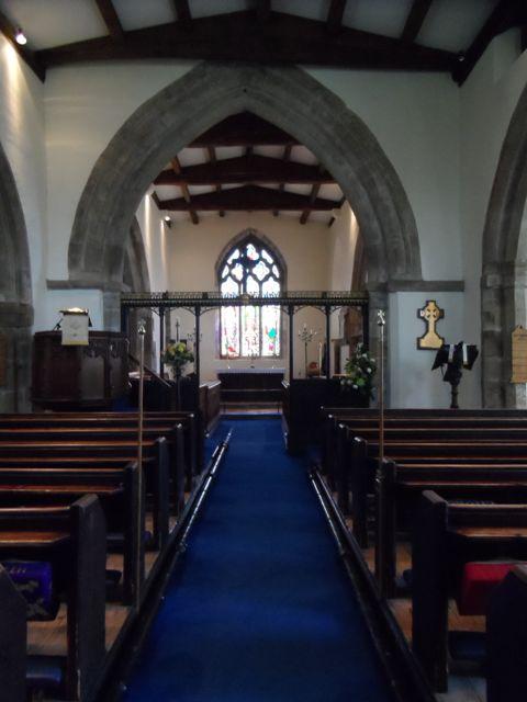 Inside St Mary's