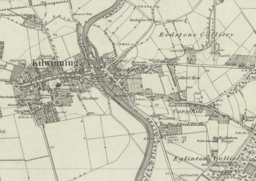 Kenneth's Row map 1860
