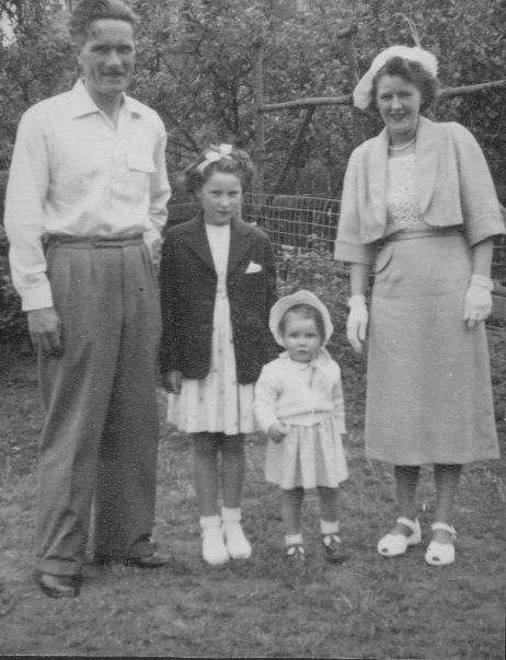 My family 1950s