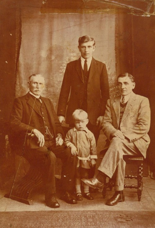James Gilmour Strachan and son Robert