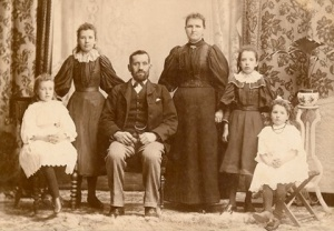 Peter Strachan b. 1861 and wife Elizabeth Fairlie