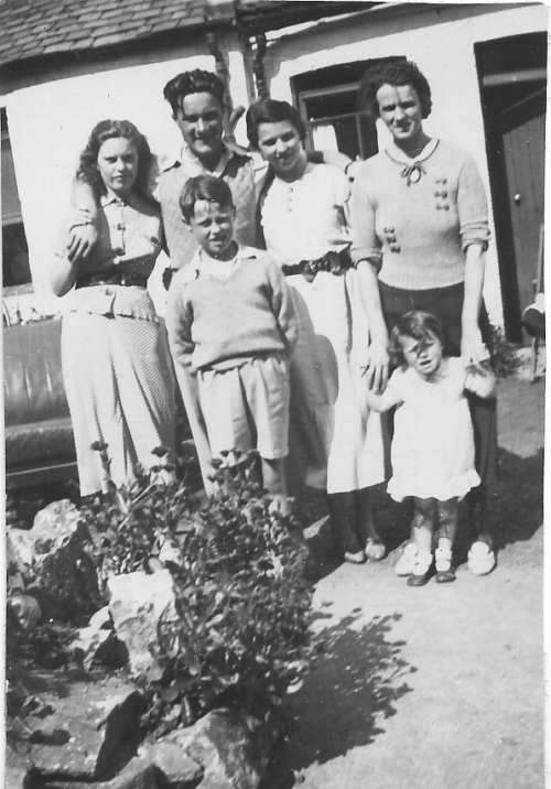 Mary McBride and family 1936